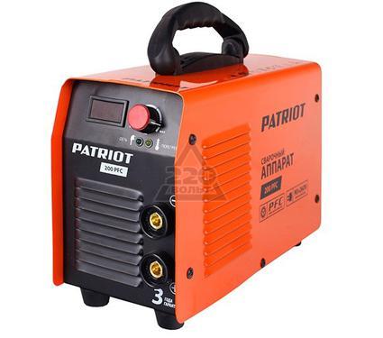 Сварочный аппарат PATRIOT 200 PFC
