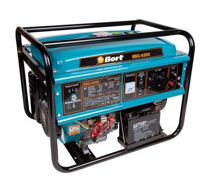 Бензиновый генератор BORT BBG-6500
