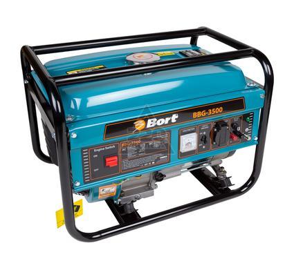 Бензиновый генератор BORT BBG-3500