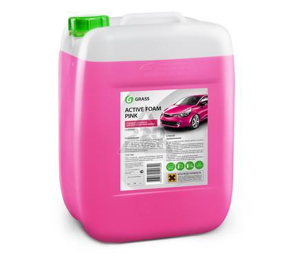 Автошампунь GRASS 800024 Active Foam Pink