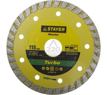 Круг алмазный STAYER MASTER 36673-115