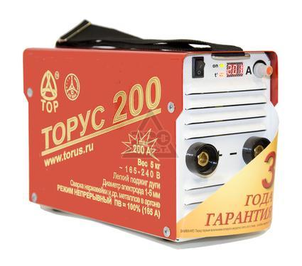 Сварочный аппарат ТОРУС 200 КЛАССИК + электроды 3шт. + краги