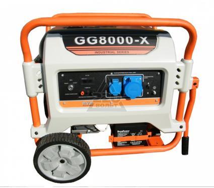 Газовый генератор RUSSIAN ENGINEERING GROUP GG8000-X