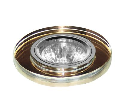 Светильник встраиваемый ESCADA ASTI GU5.3/LED 001 CH/AM