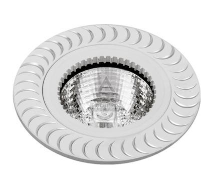 Светильник встраиваемый ESCADA VENETO GU5.3 002 WH/AL