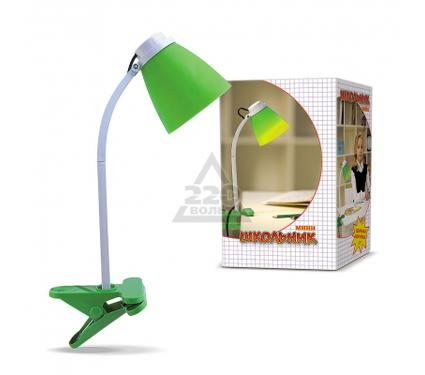 Лампа настольная ШКОЛЬНИК S-160-CLIP зеленая