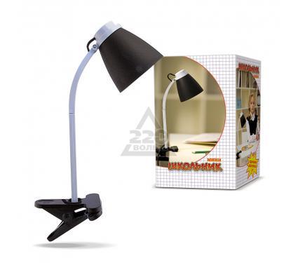 Лампа настольная ШКОЛЬНИК S-160-CLIP черная