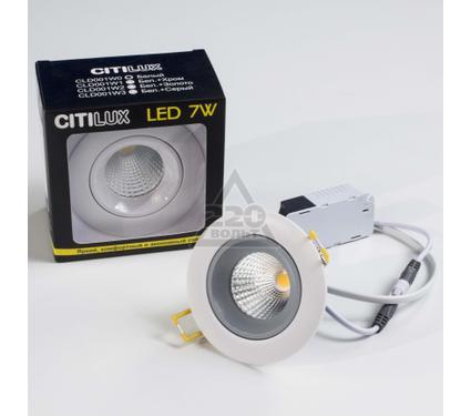 Светильник встраиваемый CITILUX CLD001W3