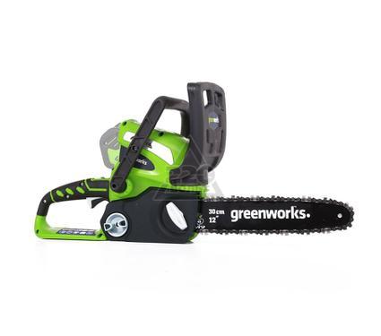 Пила цепная аккумуляторная GREENWORKS G40CS30 (20117)