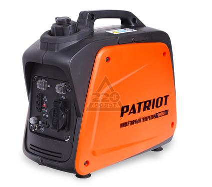 Инверторный бензиновый генератор PATRIOT 1000i