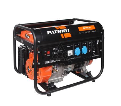 Бензиновый генератор PATRIOT GP 5510