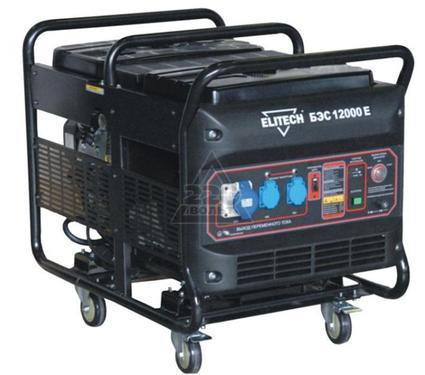 Бензиновый генератор ELITECH БЭС 12000 Е