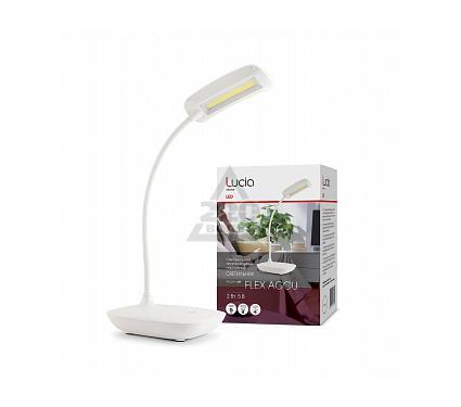 Лампа настольная ЛЮЧИЯ L380 Flex Accu белая