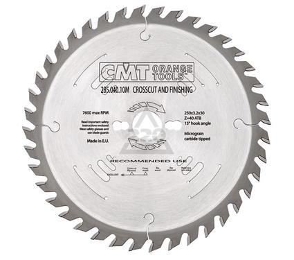 Диск пильный твердосплавный CMT 285.040.10M