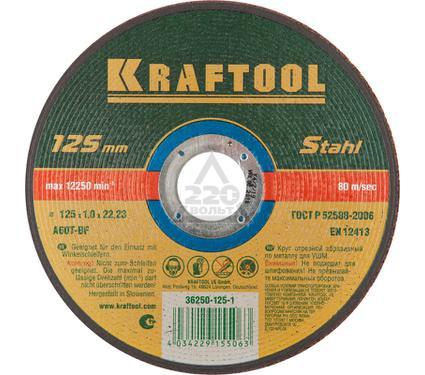 Круг отрезной KRAFTOOL 36250-125-1.0