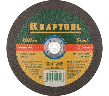 Круг отрезной KRAFTOOL 36252-180-1.6
