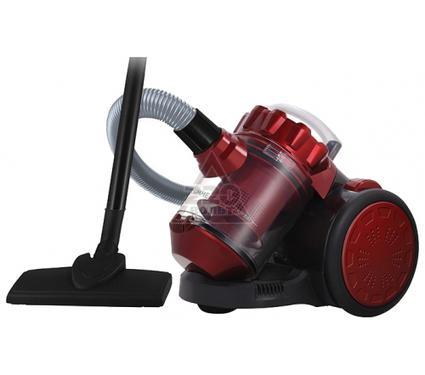 Пылесос LUMME LU-3209 черный/красный