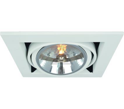 Светильник встраиваемый ARTE LAMP A5935PL-1WH
