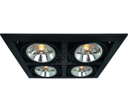 Светильник встраиваемый ARTE LAMP A5935PL-4BK