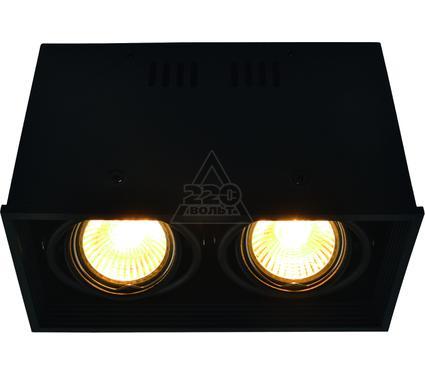 Светильник встраиваемый ARTE LAMP A5942PL-2BK