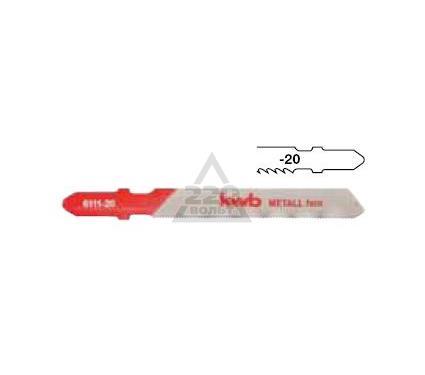 Пилки для лобзика KWB 6112-20