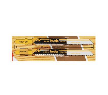 Пилки для лобзика KWB 6201-20