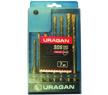 Набор буров URAGAN 901-25554-H7