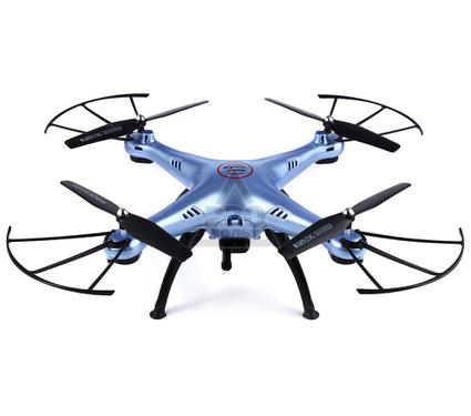 Квадрокоптер SYMA X5HC blue