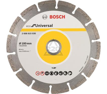 Круг алмазный BOSCH ECO Universal Ф180-22мм 10шт.