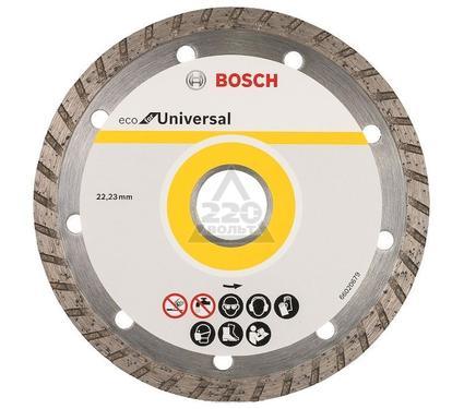 Круг алмазный BOSCH ECO Universal Turbo Ф180-22мм