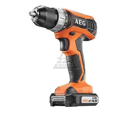 Дрель аккумуляторная AEG 451092 BS14G3LI-152C