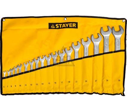 Набор ключей STAYER 27081-H18