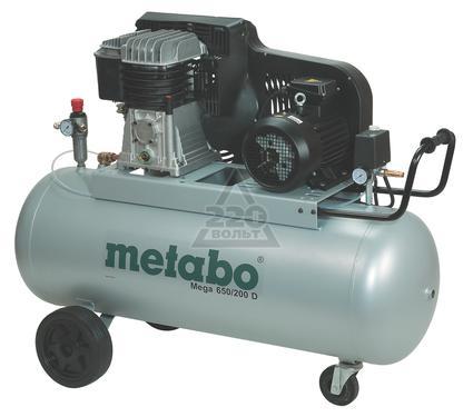 Компрессор METABO MEGA 650/200 D