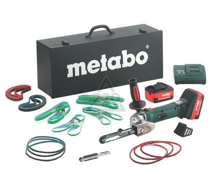 Машинка шлифовальная ленточная METABO BF 18 LTX 90 напильник аккумуляторный
