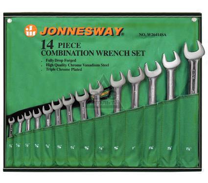 Набор гаечных ключей, 14 шт. JONNESWAY W26414S