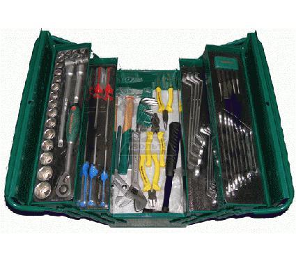 Набор инструментов в чемодане, 66 предмета JONNESWAY C-3DH201