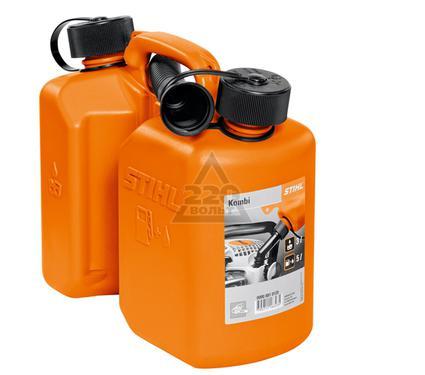Канистра комбинированная STIHL 3 л + 1.5 л, оранжевая