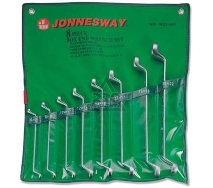 Набор накидных гаечных ключей в чехле, 8 шт. JONNESWAY W23108S