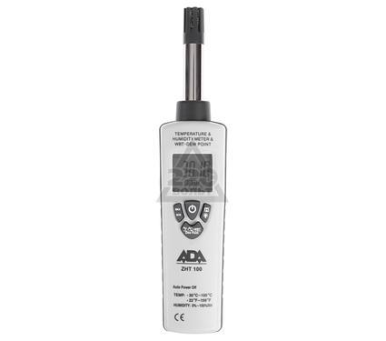 Влагомер ADA Измеритель влажности и температуры ZHT 100