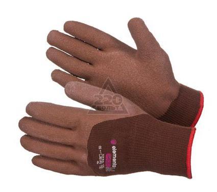 Перчатки ПВХ ELEMENTA Prime Crinkle Latex Cotton+