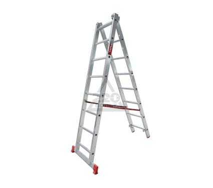 Лестница алюминиевая двухсекционная VIRA Rus 2х8
