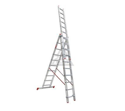 Лестница алюминиевая 3 х секционная VIRA Rus 3х10