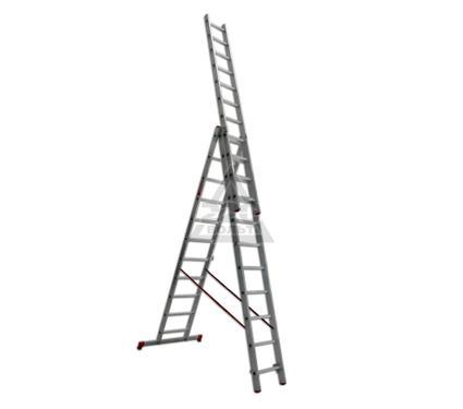 Лестница алюминиевая складная VIRA Rus 3х11