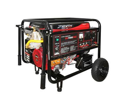 Бензиновый генератор ZENITH ZH6000 DXE