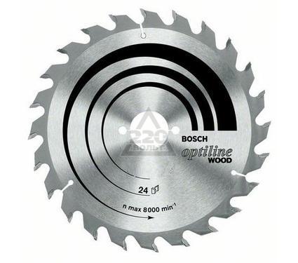 Диск пильный твердосплавный BOSCH Optiline Wood 230 X 36 X 30