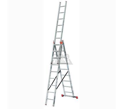 Лестница алюминиевая складная 3 х секционная KRAUSE TRIBILO 3х12