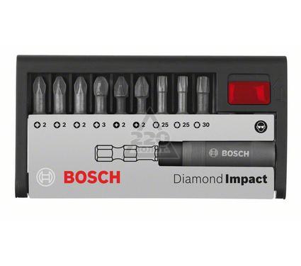 Набор бит BOSCH Diamond Impact Ph/Pz/Tx, 10 предметов
