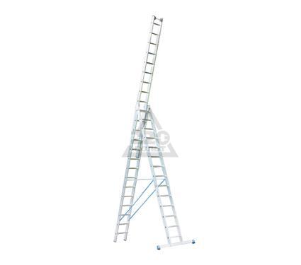 Лестница алюминиевая складная 3х14 KRAUSE STABILO