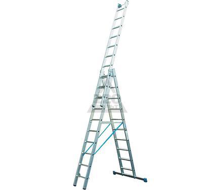 Лестница алюминиевая складная 3х16 KRAUSE STABILO