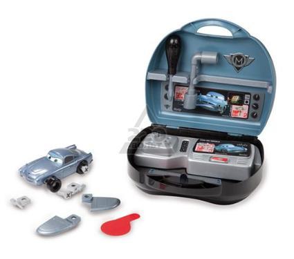 Игрушка детская SMOBY конструктор Тачки 2 Финн в чемоданчике